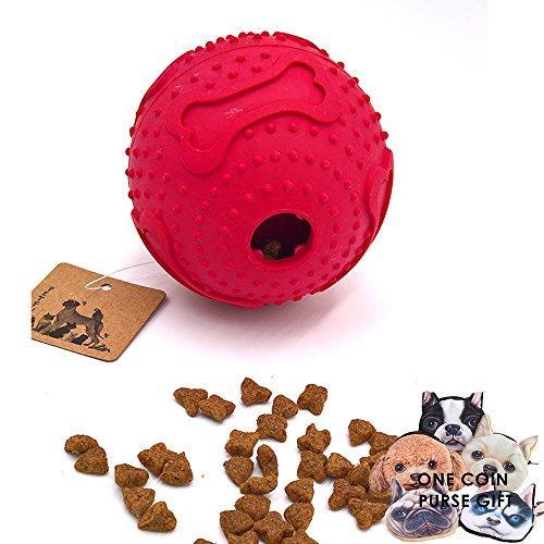 Akc Puppy Duck (PetFun Dog Large Soft Novel Smart Challenging Dispenser Treat TPR Round Waggle Ball Toy)