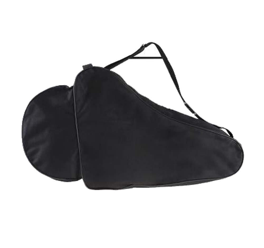 Black Temptation Pattini a rotelle impermeabili unisex che trasportano la borsa delle scarpe di pattinaggio su ghiaccio della borsa a tracolla - A5