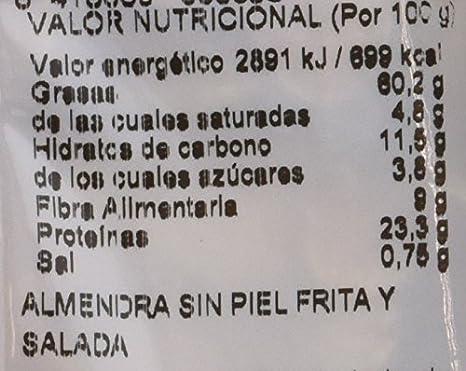 Gourmet Frutos Secos Almendra Comuna Repelada Frita con Sal - 125 g: Amazon.es: Amazon Pantry