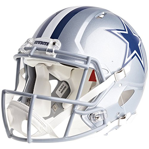 Dallas Cowboys Officially Licensed Speed Authentic Football Helmet by Riddell
