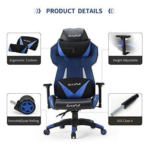 ... AutoFull Gaming Chair High Back Computer Chair, Ergonomic Racing Chair  , Swivel Executive Esports ...