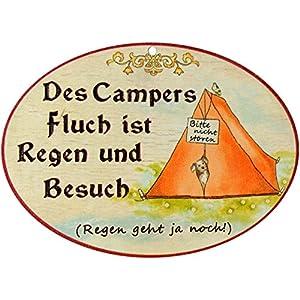 Kaltner Präsente Geschenkidee - Geschenkartikel Deko Türschild im Antik Design Dekoartikel Privat (18 x 13 cm)