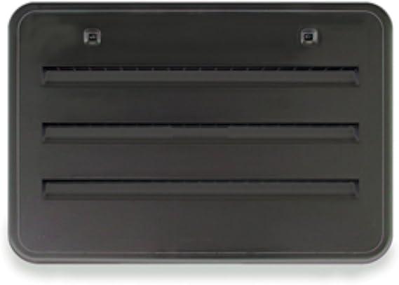 Norcold Black 621156BK Plastic Radius Corner Side Vent