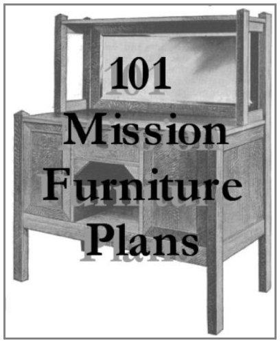 101 Mission Furniture Plans You Can Build (Mission Woodworking Plans)