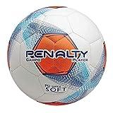 Bola Futebol Campo Player VIII C C Penalty - Branco Marinho Laranja 15fd82f29acd8
