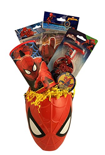 Spiderman Gift Basket Box Set for Boys Birthday, Get Well, Surprise Just Because