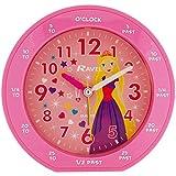 Ravel Rascals Girls Pink Princess Time Teachers Bedside Alarm Clock RC007.05B