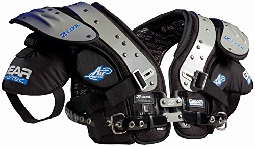 Gear Pro-Tec Z-Cool OL/DL-Pro Select Football Shoulder Pads, X-Large