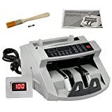 ZENY Bill Money Counter Worldwide Currency Cash Counting Machine UV & MG Cash Bank
