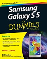 Samsung Galaxy S5 For Dummies Front Cover