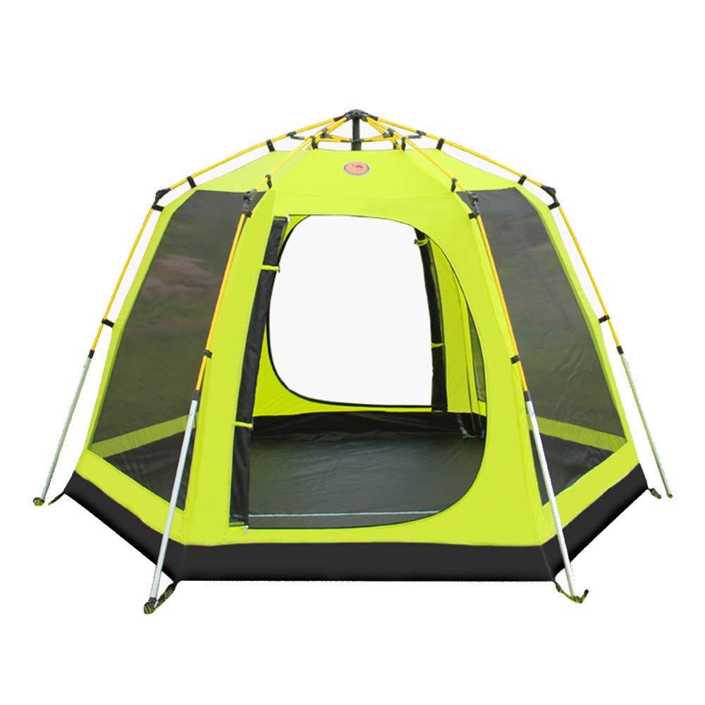 Wasserdichtes Familien-Campingzelt Großes automatisches im Freien wanderndes Pop-upzelt-sofortiges Familien-Zelt für die Person 3-4 verwendbar für Sport-wandernden Reise-Strand im Freiensport Camping