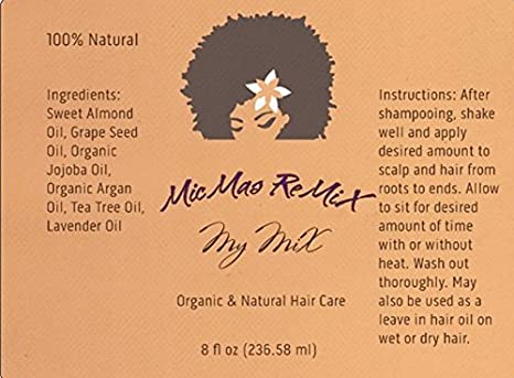 Amazon my mix 8 oz protein free organic natural hair care amazon my mix 8 oz protein free organic natural hair care light oils for relaxed dreadslocs natural coarse and coily hair hair growth light colourmoves