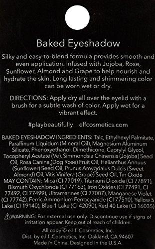 e.l.f. Baked Eyeshadow, Pixie, 0.12 Ounce