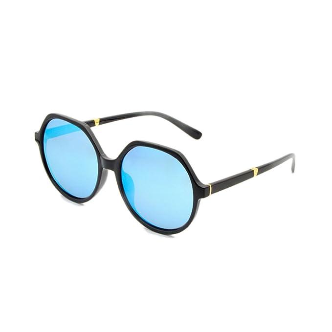 0a710a850d Gafas De Sol Polarizadas Para Mujer Lente De Color Para Mujer Gafas Bloqueo  UV Lentes Sin Reflejos Espejo Clásico, Blue-OneSize: Amazon.es: Ropa y ...