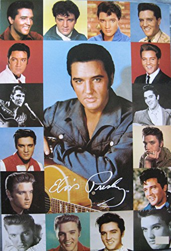 Elvis Presley Picture Collage Poster