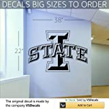 NCAA Iowa State Cyclones Wall Art Sticker Decal (S300)