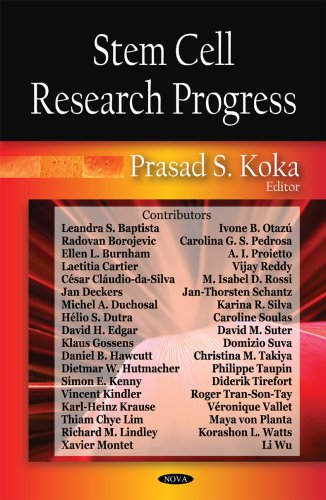 Download Stem Cell Research Progress ebook