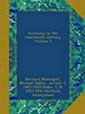 img - for Germany in the nineteenth century Volume 2 book / textbook / text book