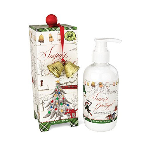 (Michel Design Works Moisturizing Hand and Body Lotion with Shea Butter, Season's Greetings)