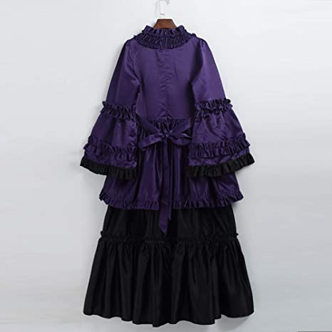 GRACEART Victoriano Halloween Fiesta Vestido de cóctel ...
