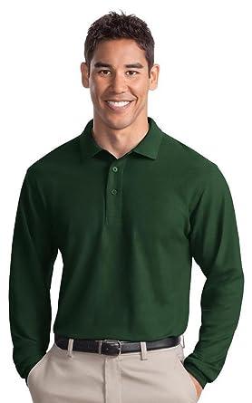 Port Authority Tall Silk Touch™ Long Sleeve Polo. TLK500LS
