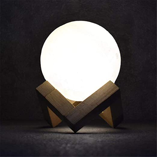 Lámpara de escritorio Lámpara de mesa con luz luner LED USB ...