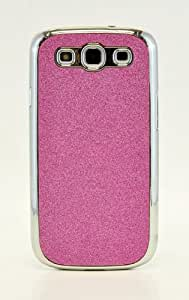 EVERMARKET(TM) Pink Luxury Bling Glitter Coated Hard Case Cover for Samsung Galaxy S3 I9300