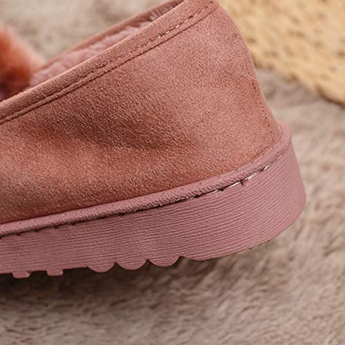 Pantuflas Intérieur Nsbm Mesdames Pink Slip Chaussures Chaud Tie Chaussons Pantoufles D'hiver On nbsp;mesdames qYOSn18Yx