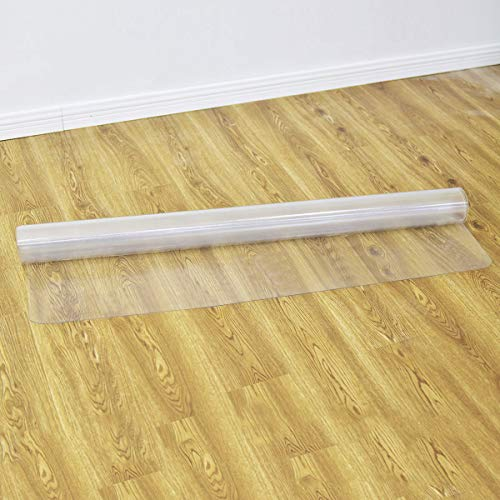 Goplus PVC Chair Mat for Hardwood Floor Clear Multi-Purpose Floor Protector for Office and Home Anti-Slip Floor Protective Mats (47'' x 47'') by Goplus (Image #5)