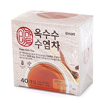 91b4bb8200 Amazon.com : [Korea Food] E-mart Bestselling Tea Bag (Corn Silk Tea ...