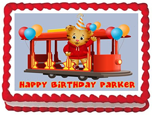 Sweet Candy Kisses-Daniel the Tiger Edible Image Frosting Sheet/cake Topper]()