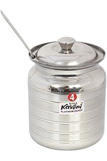 Amazoncom 500 ml capacity stainless steel oil ghee pot kitchen