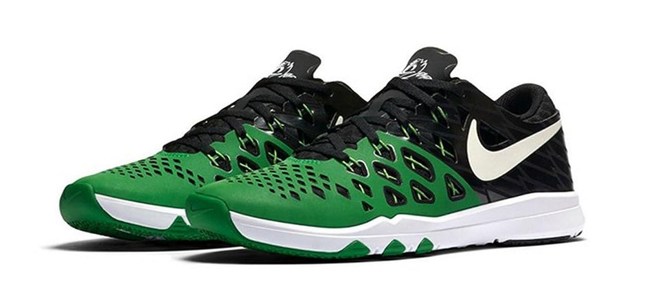 70c688256392 ... Amazon.com Nike Mens Train Speed 4 AMP Training Shoes Oregon Ducks  844102 301 Size ...