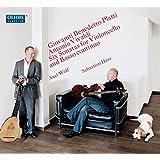 プラッティ&ヴィヴァルディ:チェロと通奏低音のためのソナタ集(Platti & Vivaldi: Six Sonatas for Violincello & Basso continuo)