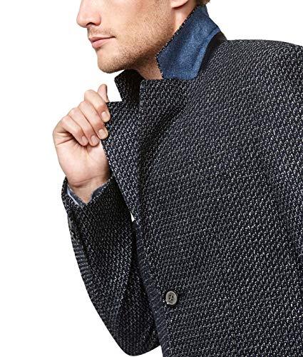 Uomo Fit Micro Slim 19 Moda Disegno 50 Inverno Taglia Blu 2018 Autunno Cappotto Collezione Digel qCTwERn