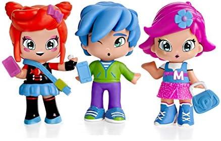 Amazon.es: PINY Pinypon by Pack de 3 figuras, Michelle, Rita y Sam ...