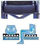 New Premium MOBB+ Wheelchair Cushion Home Aid Comfort Cushion Air And Memory Foam Seat Cushion (STANDARD 18X16)