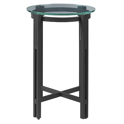 Amazon.com: madison park mesa auxiliar negro/ver más abajo ...