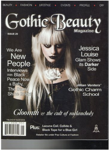 Louise Saucer - Gothic Beauty Magazine (Jessica Louise glams show it's dark side, Issue 29 2011)