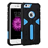 iPhone 6/6s Plus Case,I3C PC+TPU Shockproof Bumper Cover Case for iPhone 6/6s Plus