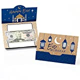 Ramadan - Eid Mubarak Money and Gift Card Holders - Set of 8