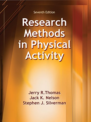 Research Methods in Physical Activity, 7E Pdf