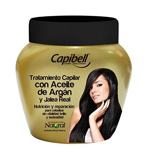 Amazon.com : Capibell Tratamiento aceite de argan y jalea real. Combina las propiedades de estos dos ingredientes de origen natural, repara de manera ...