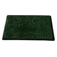 PawHut 3 layer Dog Toilet Pet Puppy Mat Tray Training Patio Grass Indoor Poop Trainer