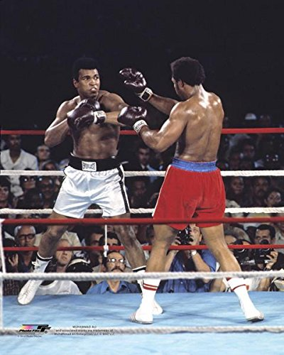 Muhammad Ali - Official Boxing 8x10 Photo (vs george foreman) by Muhammad Ali