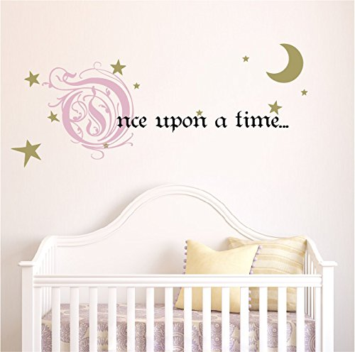 once upon a time Decal Removeable Nursery Design Sticker