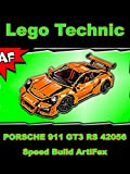 Clip: Lego Technic Porsche 911 GT3 RS - Speed Build - ArtiFex