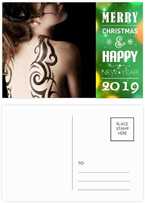 Tattoo Brunette 2019 - Tarjeta de felicitación (20 unidades ...