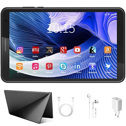 Tablet, 8 inch, Android, 10 Pie, tablets, 3 GB RAM + 32 GB ROM/128 GB uitbreidbaar, Google GMS-gecertificeerd, WLAN…