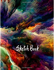 Sketch Book: Notebook for Drawing, Writing, Painting, Sketching or Doodling, 120 Pages, 8.5x11 (Premium Abstract Cover vol.6)